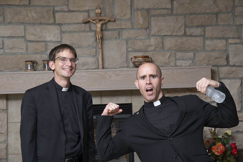 Fr. Andy and Fr. Adam