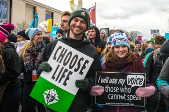 Youth from the Diocese of Saginaw participate in the annual March for Life in Washington, D.C.
