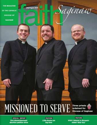 July August Faith Saginaw Cover