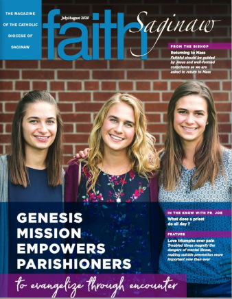 July August 2020 Faith Saginaw Cover