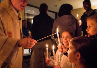 Easter Vigil Image From 2019